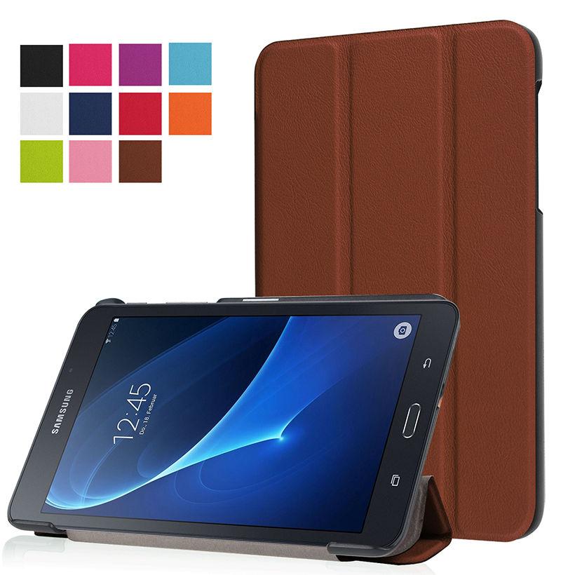 Folio Standı PU Deri Kapak Kılıf Için 2016 Yeni Durumda Samsung - Tablet Aksesuarları - Fotoğraf 6