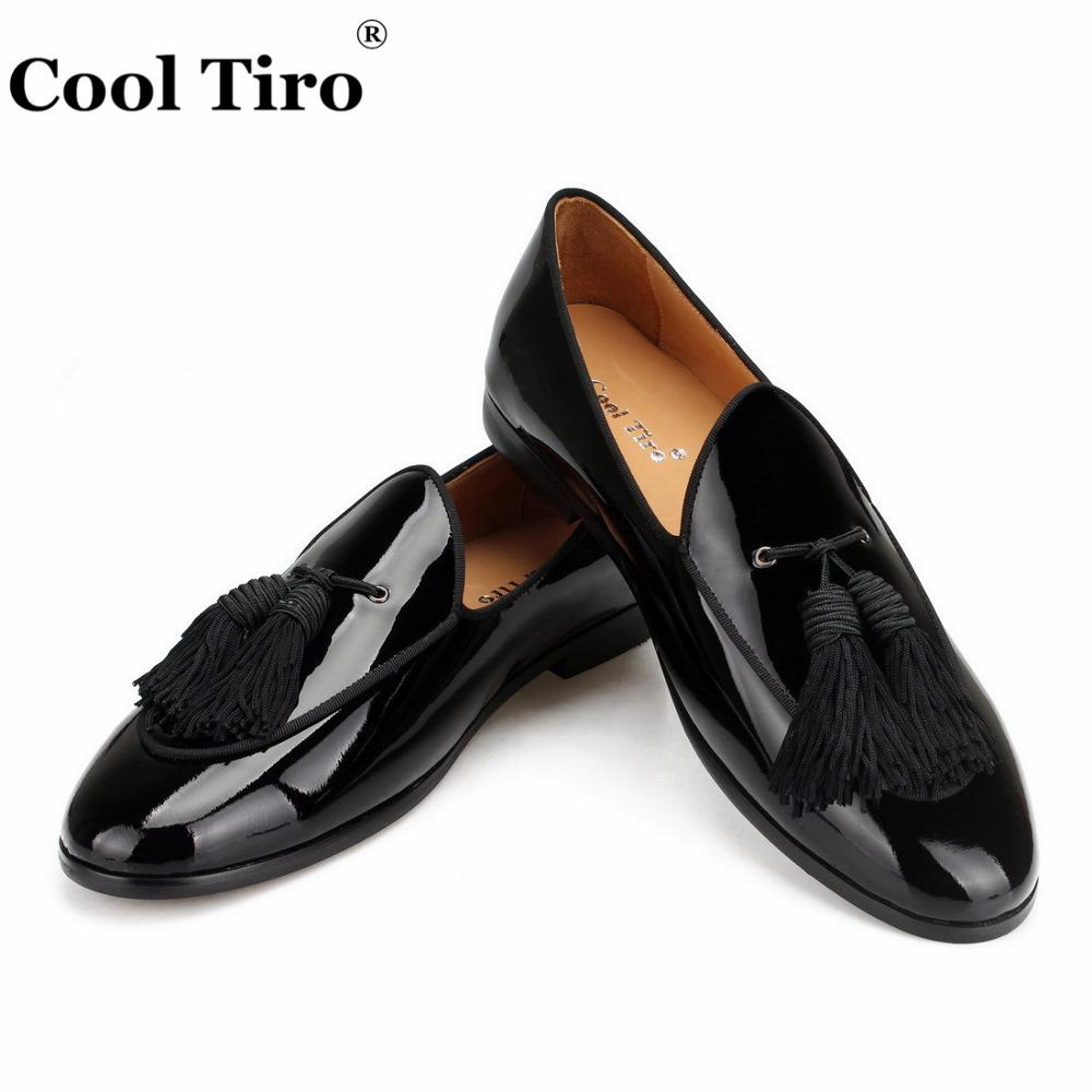 Cool Tiro Black Patent Leather Loafers