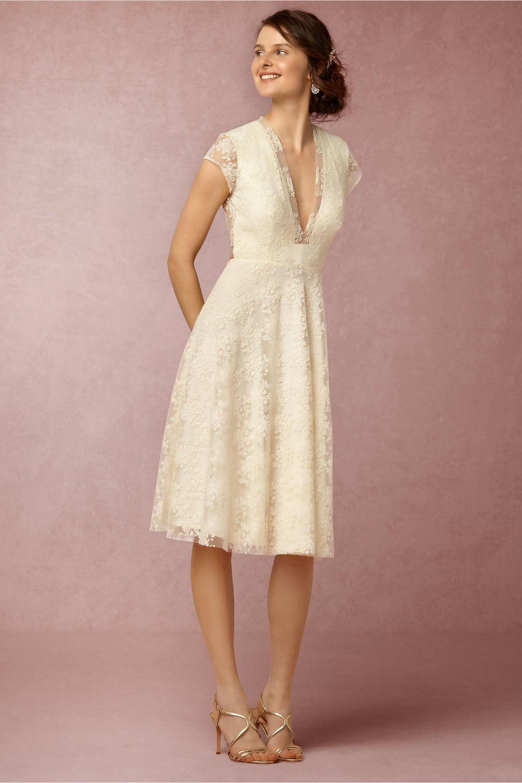 2016 short sexy open back bohemia lace beach wedding dresses cap sleeves 1950s vintage informal reception