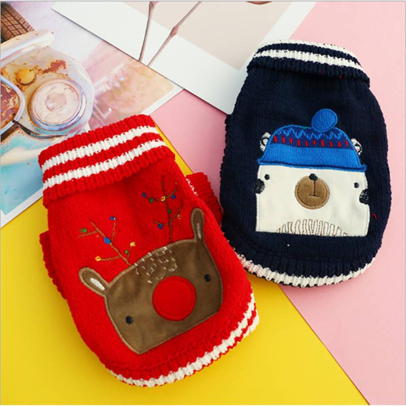 2018 pet french bulldog dog clothes cotton  warm ropa para perro coat