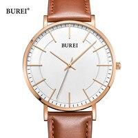 Relogio Masculino BUREI Brand Men Watch Luxury Waterproof Fashion Ultra Thin Quartz Wristwatch Business Clock 2020 Reloj Hombre