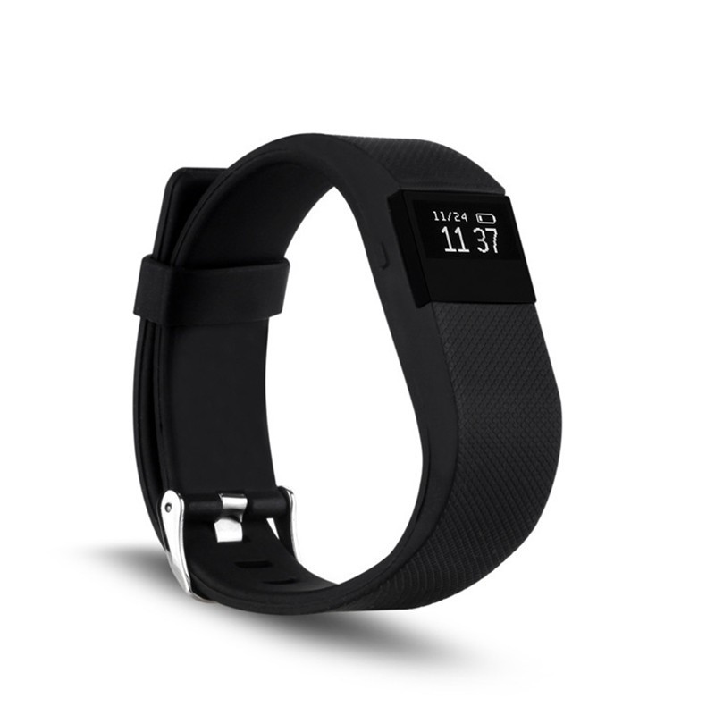 TW64 upgraded Bluetooth Smart Wristband Heart Rate Pulse Measure watch Sport Hea