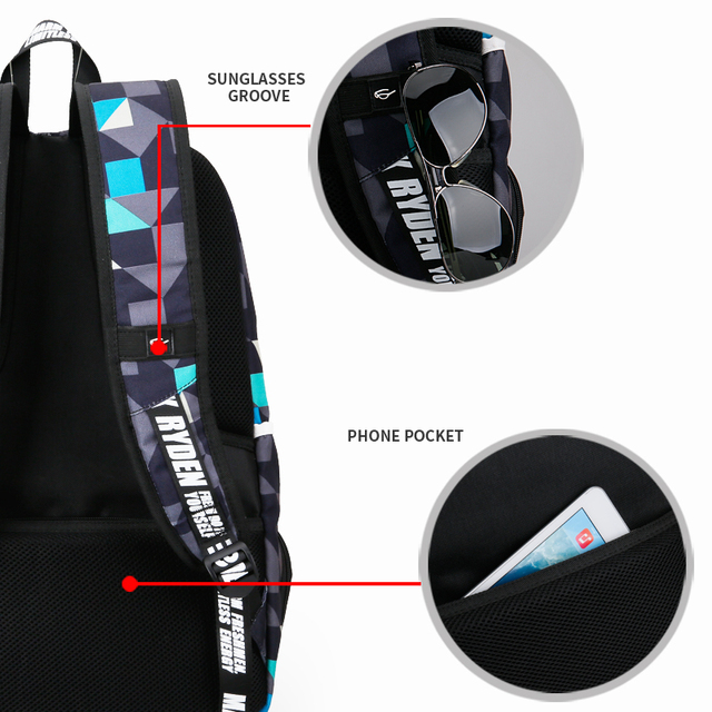 Heovo Waterproof Anti-Theft Backpack