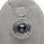 FEIGE El Nuevo Diseño Plata de Ley 925 Collares Pendientes de la Perla 11-12mm Negro Perlas de Agua Dulce Joyería Fina Para de las mujeres