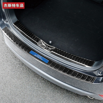 High quality stainless steel rear windowsill panel,Rear bumper Protector Sill For Mazda CX-5 2013-2018