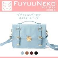 Japanese College Style Students Orthodox Backpack Vintage Messenger Bag Lolita England JK Uniform School Bags Girls Handbags