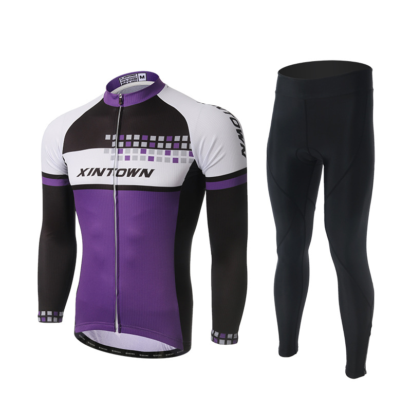 New 3 Color Men Cycling Sets Long Sleeve Anti-sweat Jersey Pants with GEL Pad MTB Bike Bicycle Trousers Suit Sportswear CiclismoNew 3 Color Men Cycling Sets Long Sleeve Anti-sweat Jersey Pants with GEL Pad MTB Bike Bicycle Trousers Suit Sportswear Ciclismo