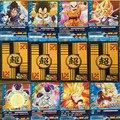 18 unids/lote Dragon Ball Z Super Saiyan Goku Freezer Tarjeta Tarjetas de Colección New Dragon Ball Z Figura de Acción de Juguete Del Cabrito