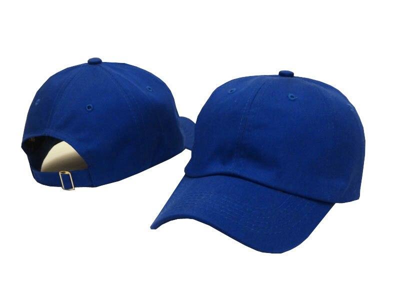 BASEBALL CAP BASEBALL HAT PLAIN ADJUSTABLE STRAP DARK NAVY BLUE