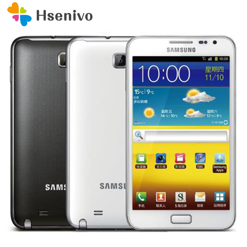 N7000 Riginal Samsung Galaxy Note I9220 N7000 EU Version Dual Core 5.3' Android Cell Phone 8MP Wifi GPS Touch SCreen Refurbished