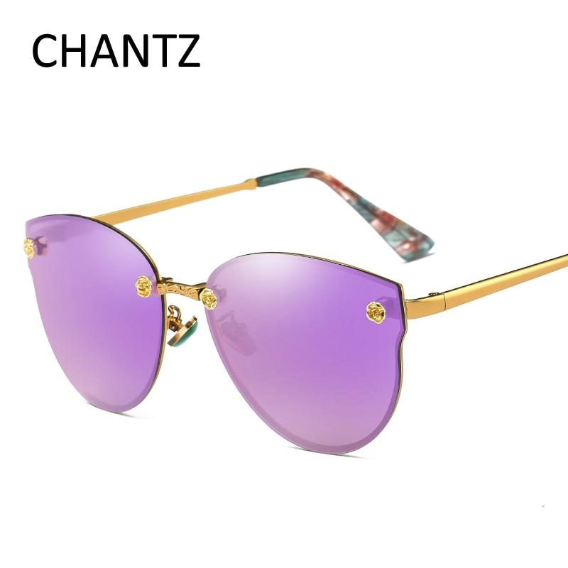 Mode Polarisierte Cat Eye Sonnenbrille Frauen Okulary 2018 Marke - Bekleidungszubehör