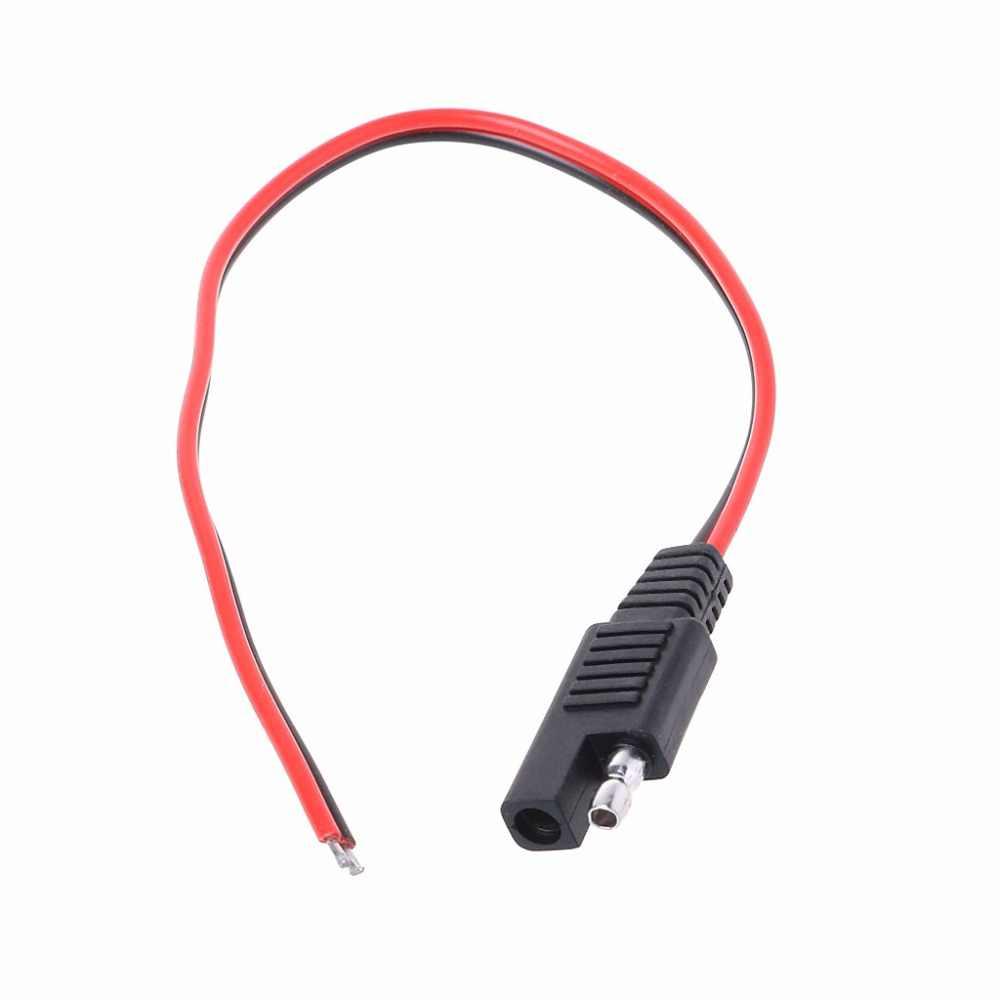 Зарядное устройство кабель sae 18AWG DC Мощность автомобильный разъем кабель удлинитель 12V 10A