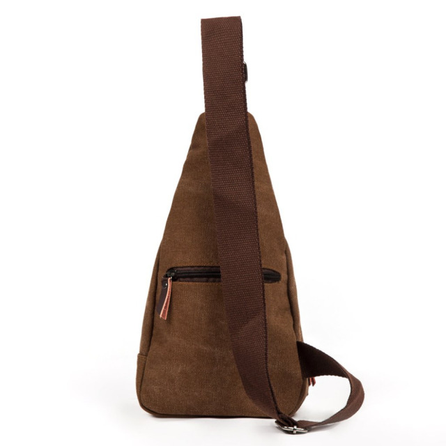 Men's Canvas One-Shoulder Backpack
