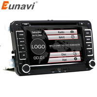 7inch 2din Multimedial VW Car DVD Player GPS Navigation For GOLF 6 New Polo New Bora