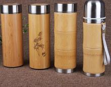 400 ml botellas de agua de Vacío de Acero Inoxidable frascos viajes botella de agua para preparar té café