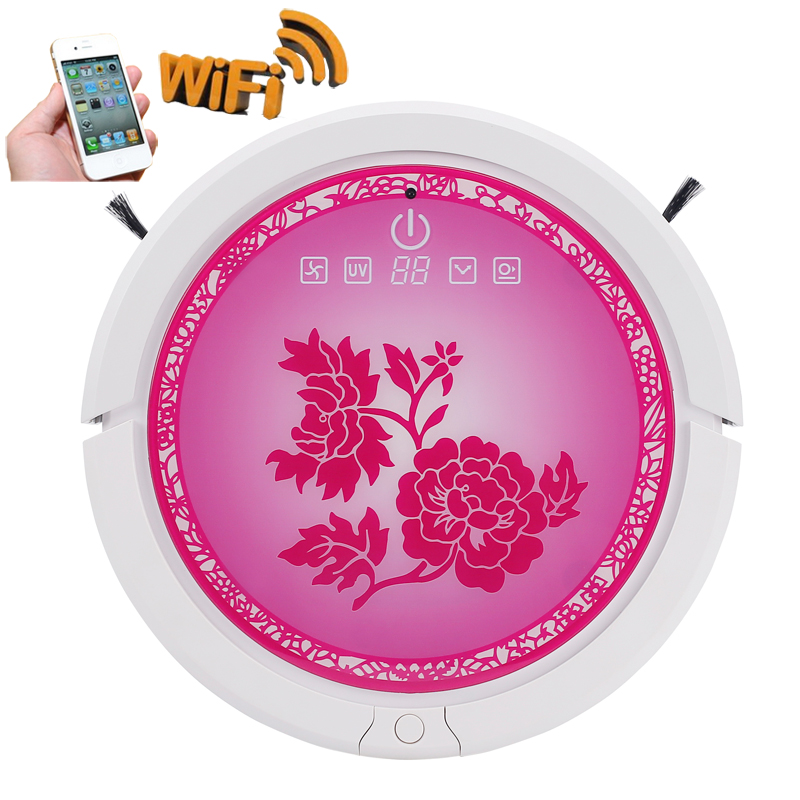 Newest 7 Color For Choosing Smartphone WIFI APP Control Robot Vacuum Cleaner With 150ml Water Tank,3350mah Lithium battery кроссовки coccodrillo кроссовки
