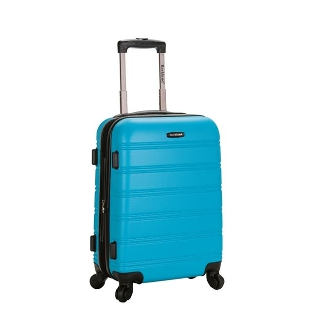 Rockland F145-TURQUOISE MELBOURNE 20 in. EXPANDABLE ABS CARRY ON - TURQUOISE migos melbourne