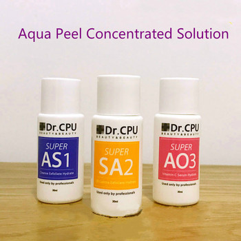 Newest !!! Aqua peeling concentrate 30ml per bottle aqua facial serum hydra facial serum for normal skin CE
