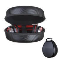 Outdoor Viaggio Carry Caso di EVA Auricolare Auricolari Custodia Protettiva Bagagli Sacchetto della Maniglia Portatile Auricolare Sacchetto per Cuffia Universale
