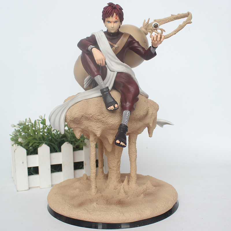 22cm Anime NARUTO Sabaku no Gaara CS GK Action Figure Gaara PVC Collectible Model Toy