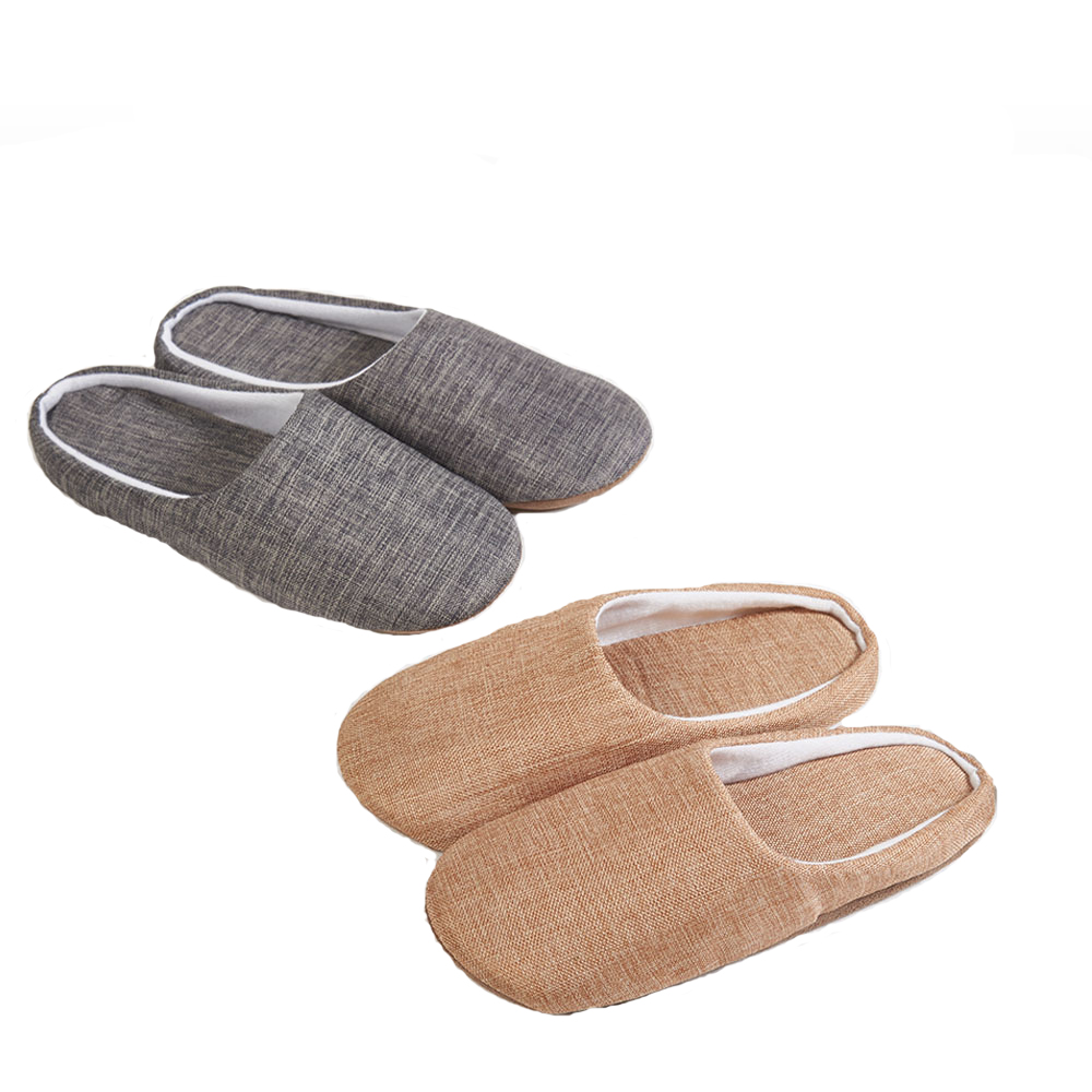 1pc home slipper big size air travel home, comfortable slipper, slippery floor slippers.Simple style couple slippers