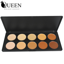 Professional Make up 10 Colors Concealer Palette Contouring Face Powder for Makeup AC10