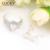 Centro Comercial 2017 Nueva Llegada de La Joyería Clásica Opal Lucky Pendiente/Anillo Establece Mejor Día de la Madre Regalos Bijoux