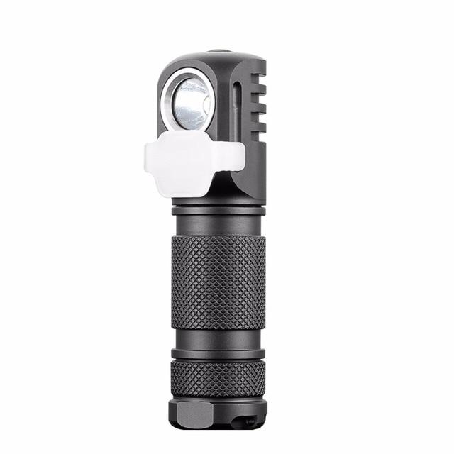 Налобный фонарь Manker E03H AA, светодиодный фонарь с реверсивным зажимом, CREE XP L / Nichia 219C, 350 лм