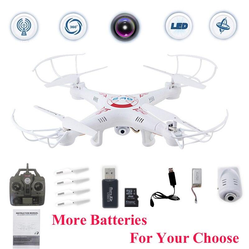 X5C FPV Selfie Drones Avec Caméra HD Quadrocopter Profissional Quadcopter Dron Jouets Pour Enfants Télécommande Rc Hélicoptère