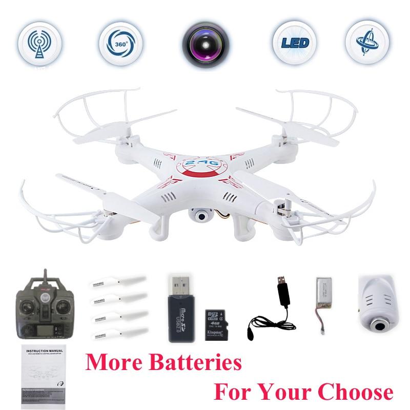 X5C-1 Drones Quadcopter Con Cámara HD Profissional Dron 2.4G 6 ejes Quadrocopter