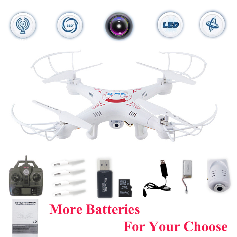 X5C FPV Selfie Drones With Camera HD Quadrocopter Profissional Quadcopter Dron Toys For Children Remote Control Rc Helicopter in RC Helicopters from Toys Hobbies
