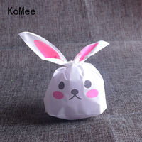 Special Cake Plastic Bag 13x22cm Cute Cookie Pouch 50pcs Lot Christmas Gift Bags Wedding Candy Pouches