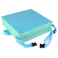 Children Artificial leather Laptop Lunch Children 's throwing Chair cushions Chair green + blue