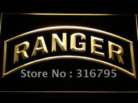 F146 US Army Ranger Military LED Neon Sign With On Off Switch 20 Colors 5 Sizes