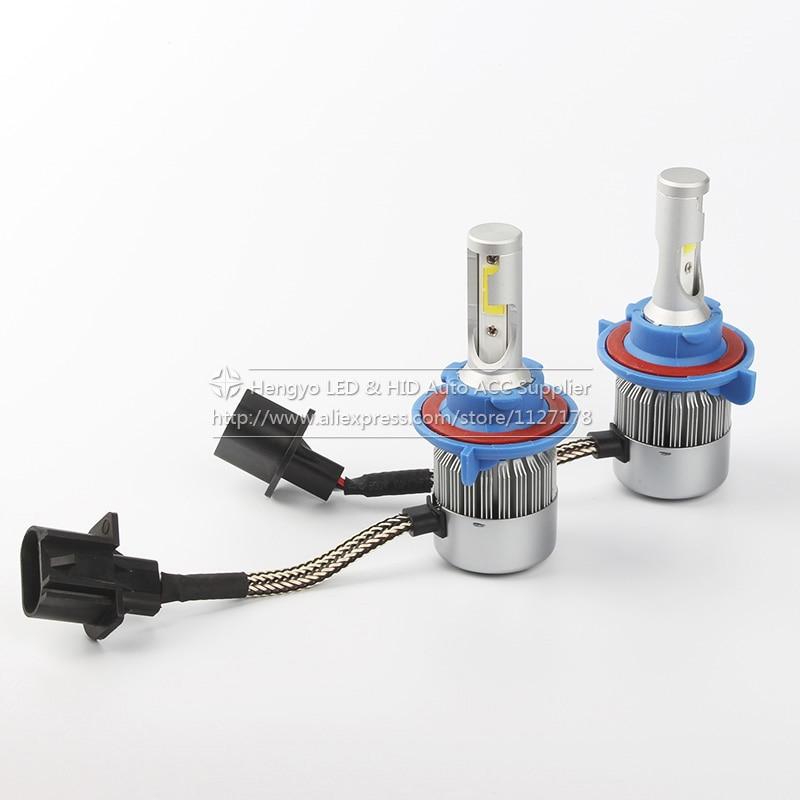 2 τεμ. H13 COB Φωτιστικό προβολέα - Φώτα αυτοκινήτων - Φωτογραφία 2