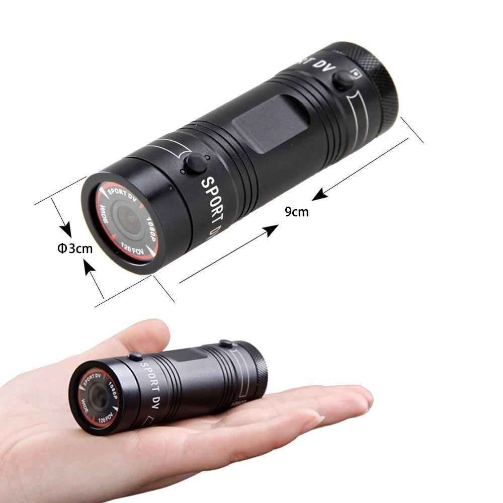 câmera fhd 1080 p tocha arma câmera cabeça cam bala dv gravador