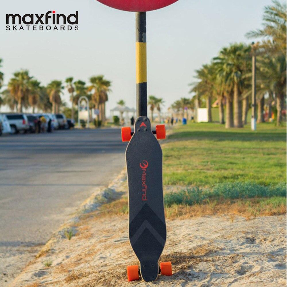 Maxfound conseil moyeu moteur roues planche à roulettes électrique Longboard avec télécommande Max A
