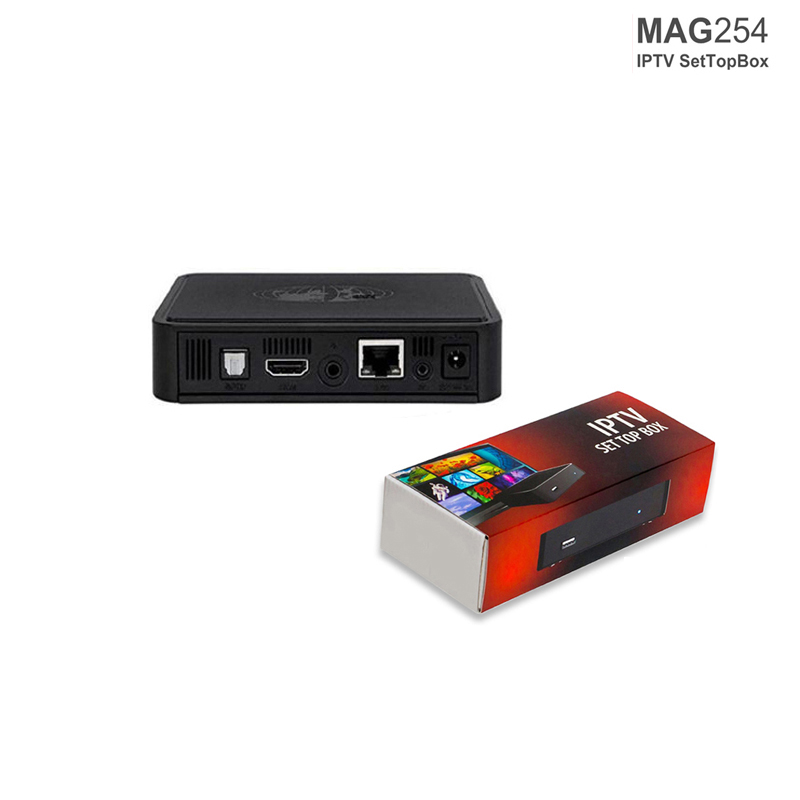 Mag 254 Iptv Box Linux TV Box Mag254 Middle Stalker Set Top Box STiH207  Support Usb WIFI Faster Than Mag 250 Free Shipping-in Set-top Boxes from
