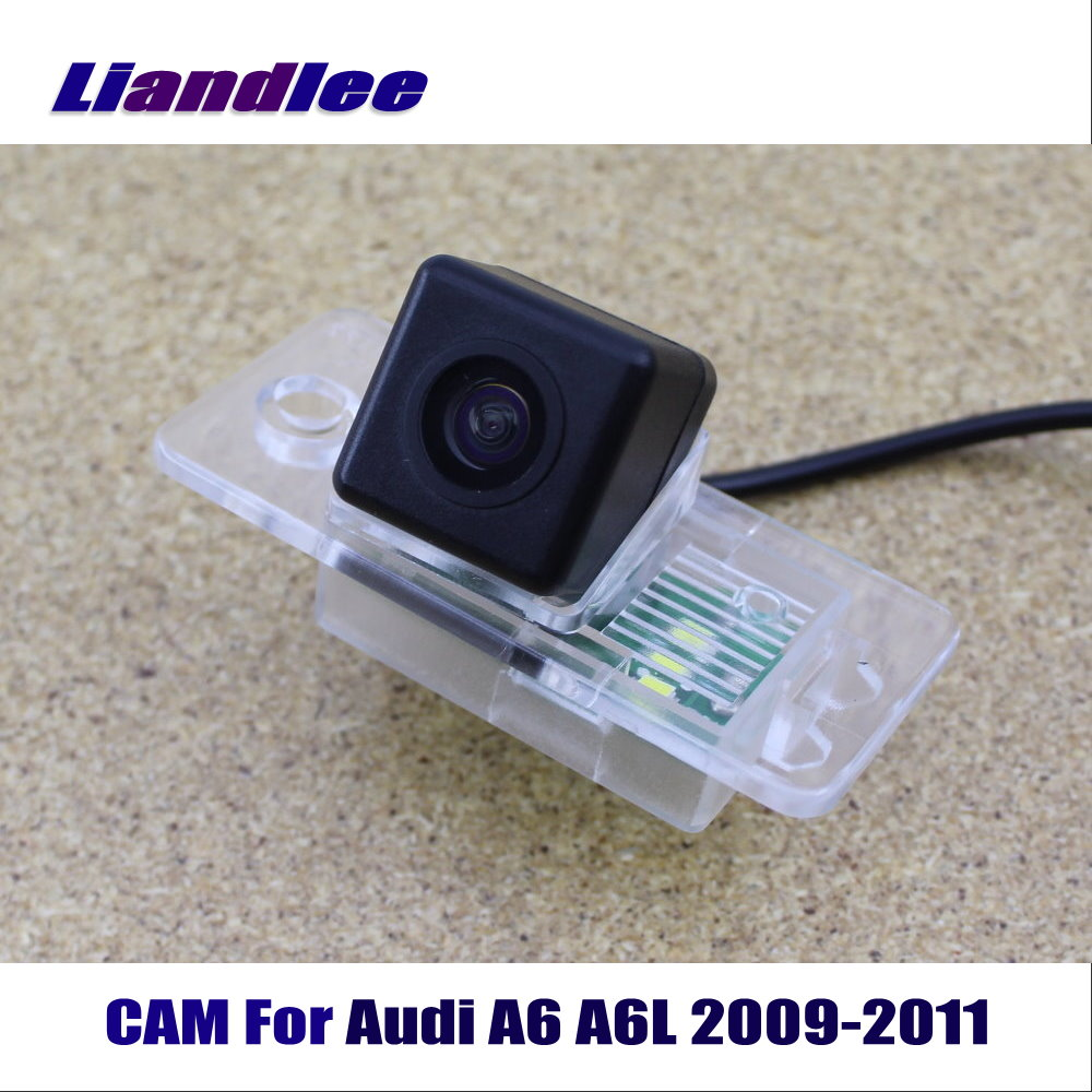 Liandlee CAM Car Rearview Reverse Reversing Parking <font><b>Camera</b></font> For <font><b>Audi</b></font> <font><b>A6</b></font> A6L 2009-2011 / Back <font><b>Camera</b></font> HD CCD Night Vision image