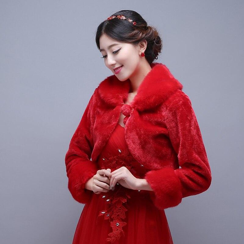 1b9e6bc64f56 Abito da sposa rosso invernale – Abiti alla moda