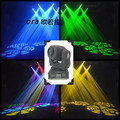 6pcs/lot Hot sell high brightness 60W spot moving head light stage dj DMX512 60 watt led mini gobo moving heads