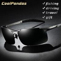 Алюминий магния мужские поляризованные солнцезащитные очки-авиаторы HD вождения солнцезащитные очки мужские спортивные солнцезащитные оч...