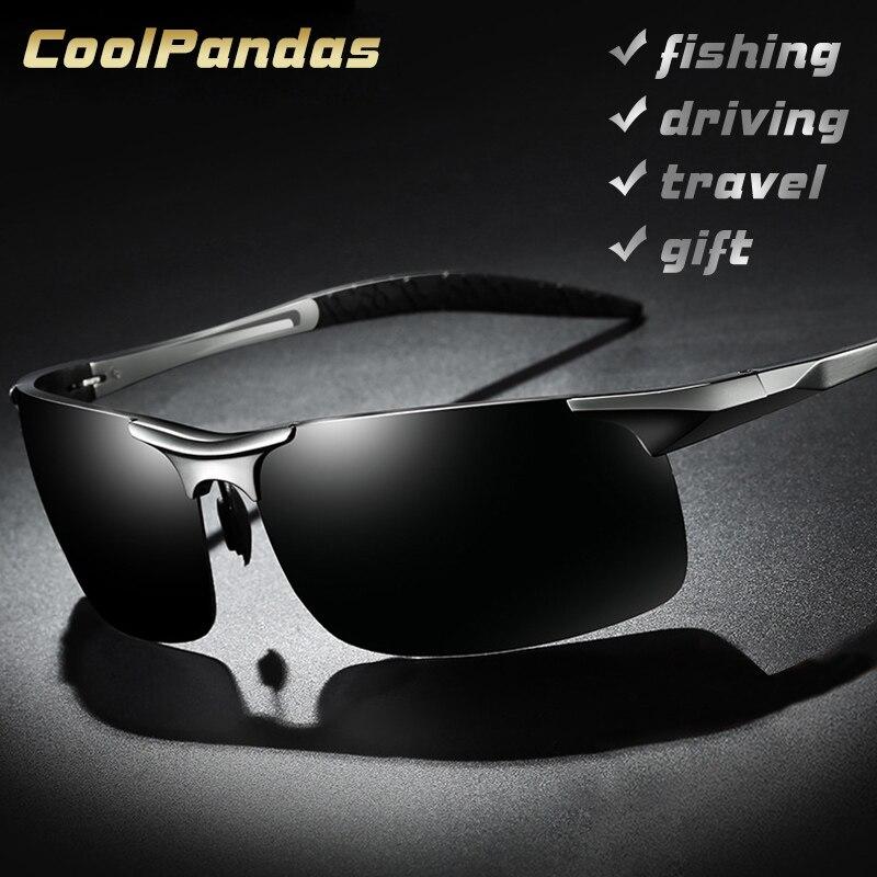 Aluminium magnésium hommes lunettes de soleil polarisées Aviation HD conduite lunettes de soleil homme Sport lunettes de soleil lunette soleil homme oculos