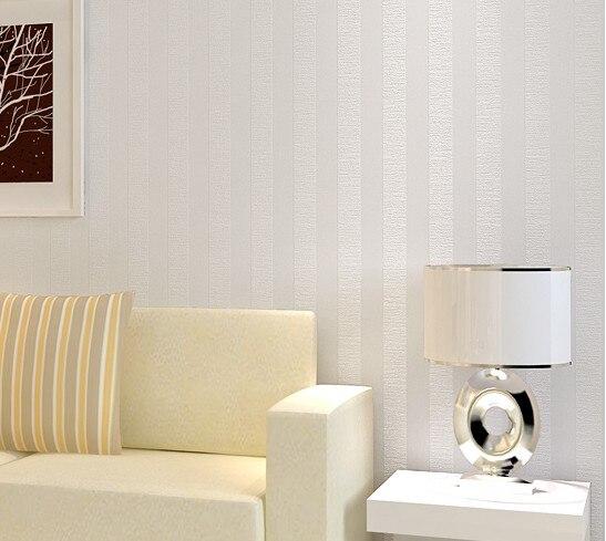 Aliexpress Com Buy Modernwhite Vertical Stripes