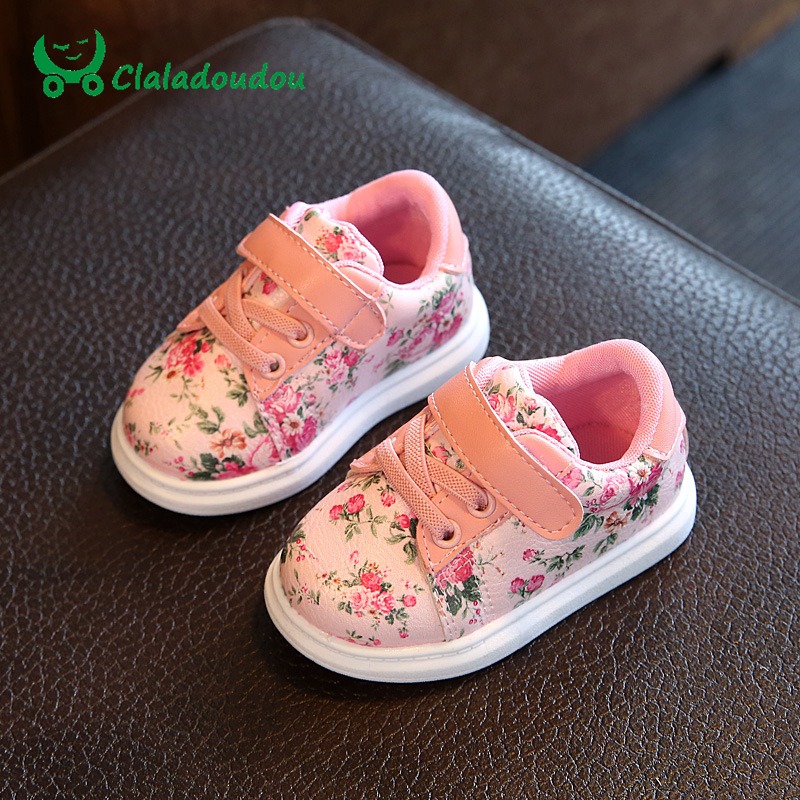 0-3Y Baby Shoes For Girls Soft Black Casual Shoes Flower Infant White Baby Girl Shoes Soft Toddler Girl Newborn First Walkers