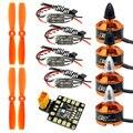 Racing Quadcopter 1806 2400KV Brushless Motor Mini BLHeli OPTO 16A ESC 5045 Propellers Paddles DIY for Mini 250 210 RC Drone FPV