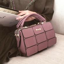 2016 herbst Neue Patchwork Kleinen Platz Paket Europäischen und Amerikanischen Mode Handtaschen Freizeit Paket Handtasche Schultertasche