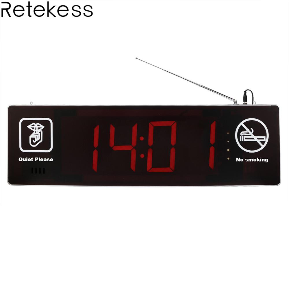Retekess TD123 Double-sided Display Wireless Calling Host Receiver with Voice Reporting for Nurse Calling System Hospital ClinicRetekess TD123 Double-sided Display Wireless Calling Host Receiver with Voice Reporting for Nurse Calling System Hospital Clinic