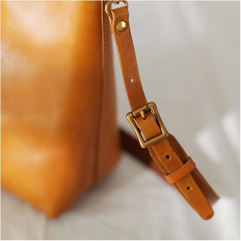 Aetoo 질감 서류 가방, 여성 복고풍 영국 스타일의 수제 소 가죽 핸드백, 간단한 가죽 어깨 crossbody 가방-에서탑 핸드백부터 수화물 & 가방 의  그룹 3