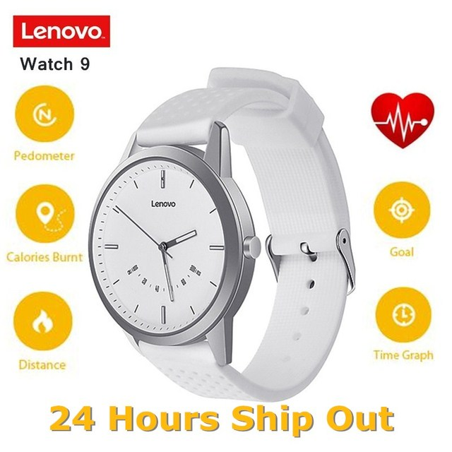 Lenovo שעון 9 חכם שעון נשים גברים Bluetooth Smartwatch תמיכת iOS אנדרואיד עמיד למים שינה צג מעורר גשש כושר